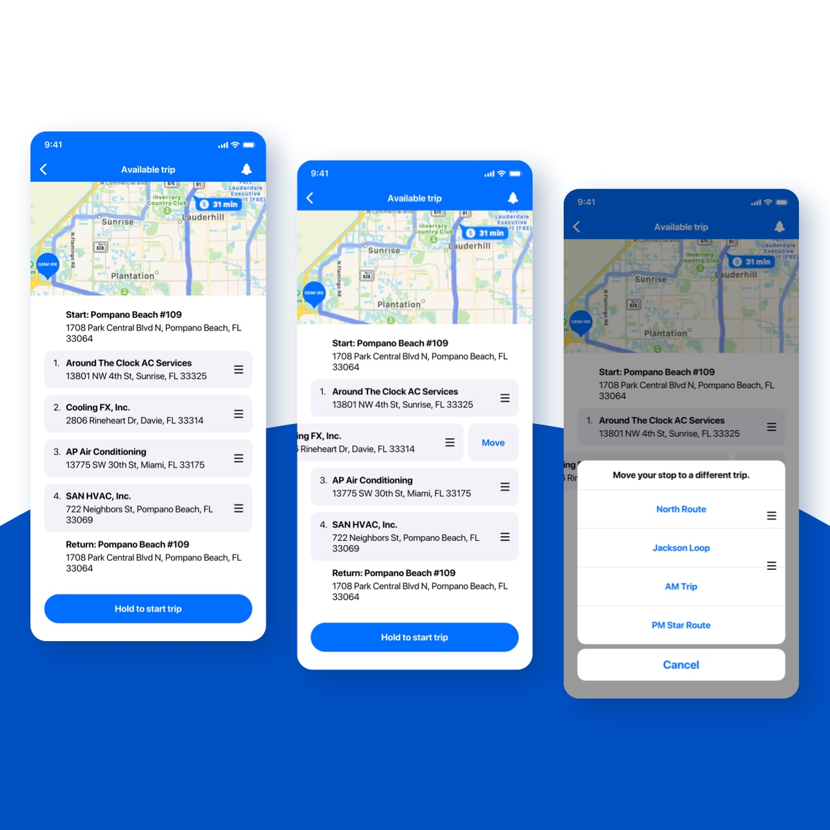 Truck Delivery is an on demand truck delivery mobile application.
